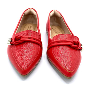 Comfy Flat  in  Red-1266-079