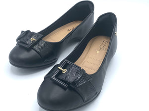 Flat  Comfy in Black-1264-048