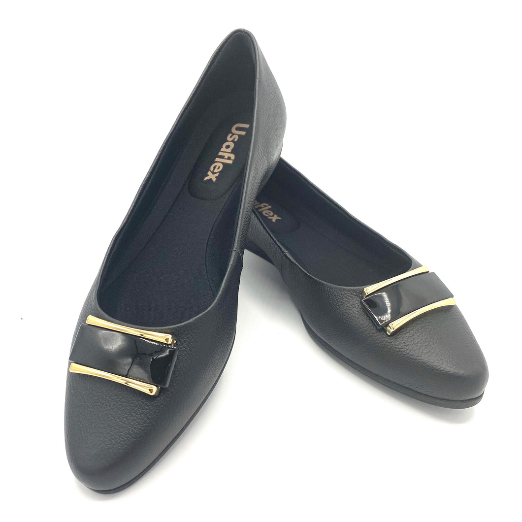 Casual Moccasin IN BLACK - AB6209