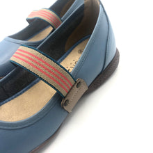 Load image into Gallery viewer, Leather Clog in Blue - 11060