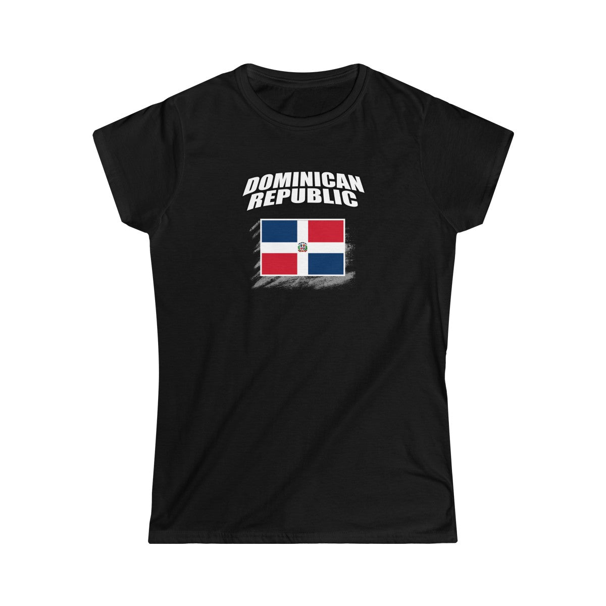 Dominican Women's Softstyle Tee - Camiseta Softstyle de Mujer