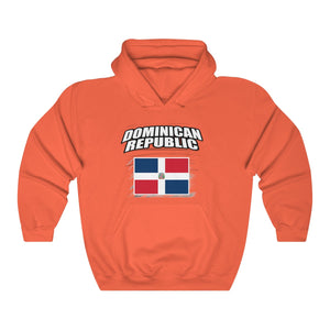 Dominican Republic Flag Sweatshirt Hoodie Unisex Heavy Blend™