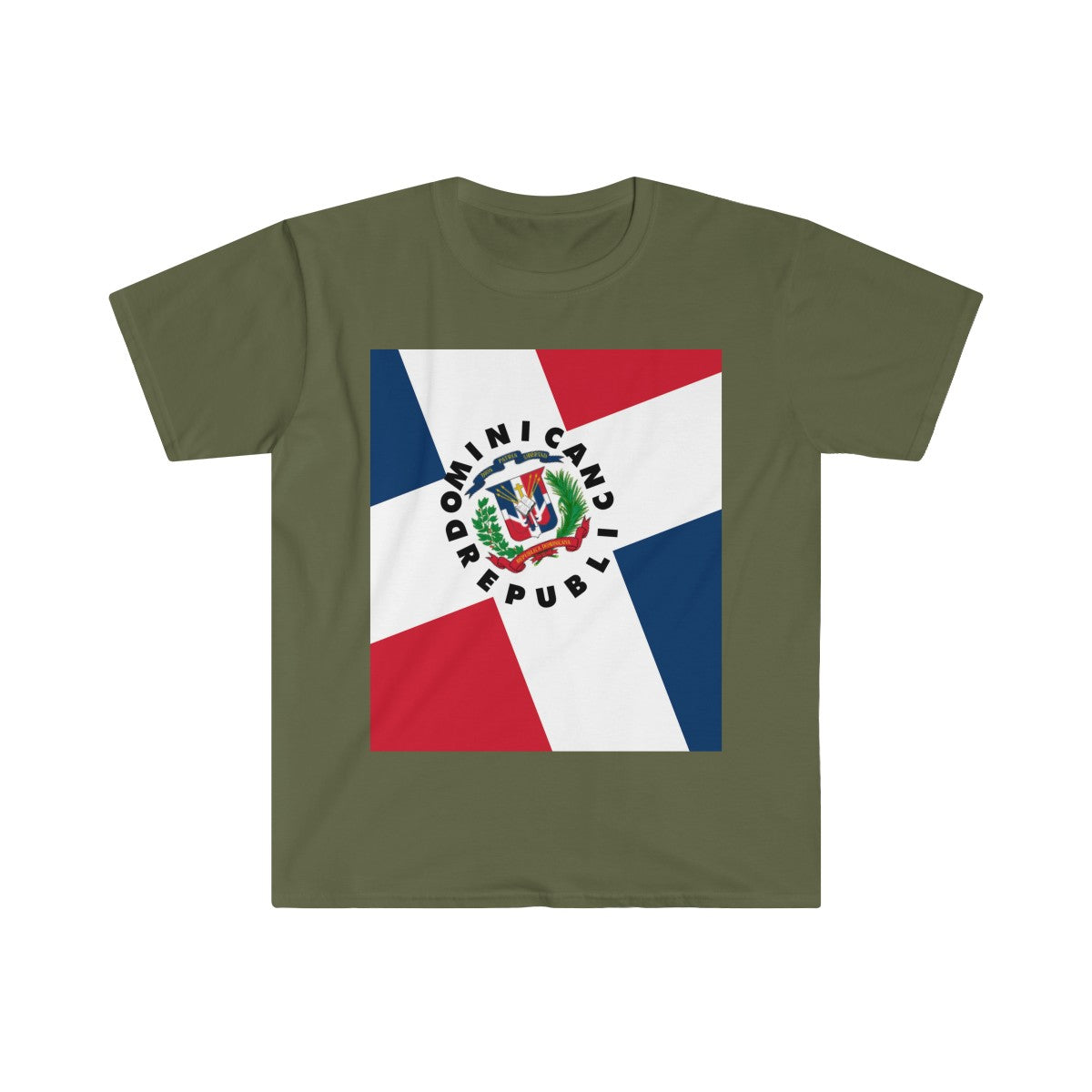 Dominican Republic Men's Fitted Short Sleeve Tee Shirt