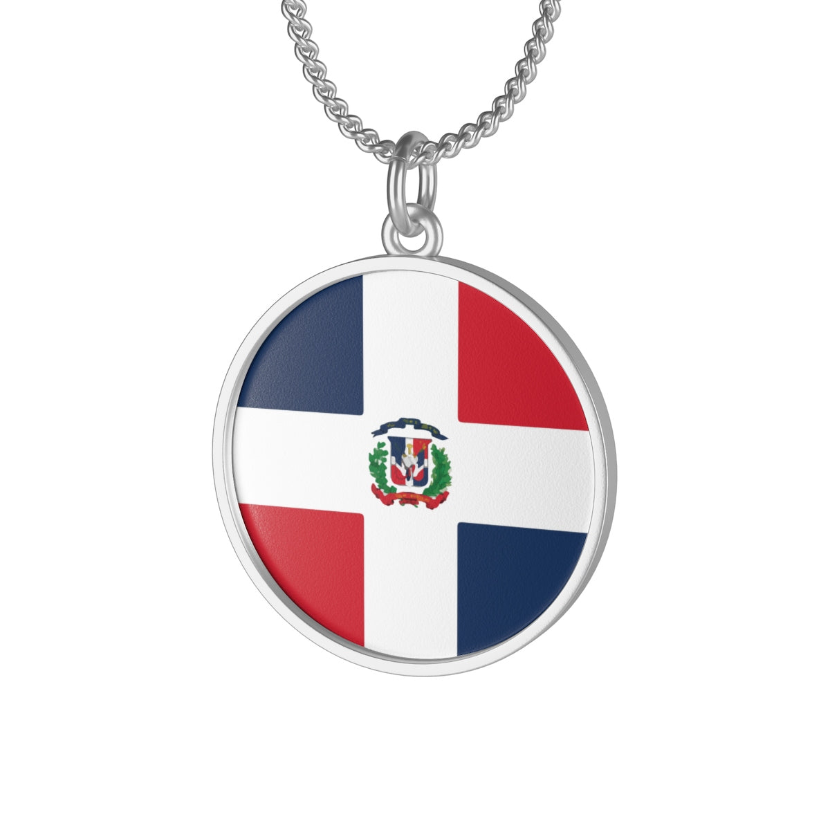 Dominican Single Loop Necklace