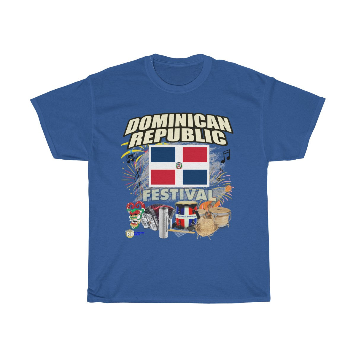 Dominican Republic Carnaval Festival Edition Tee Shirt