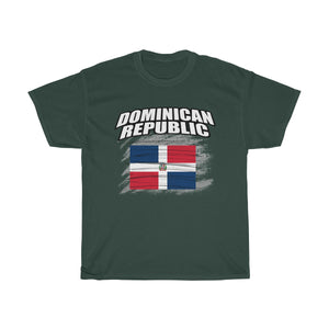 Dominican Republic Cultural Traditional Unisex Heavy Cotton Tee