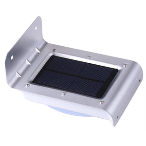 Amazing Products eStore 120-Degree Motion Sensor Light Outdoor LED Solar Powered  Cool White Waterproof Security Lamp