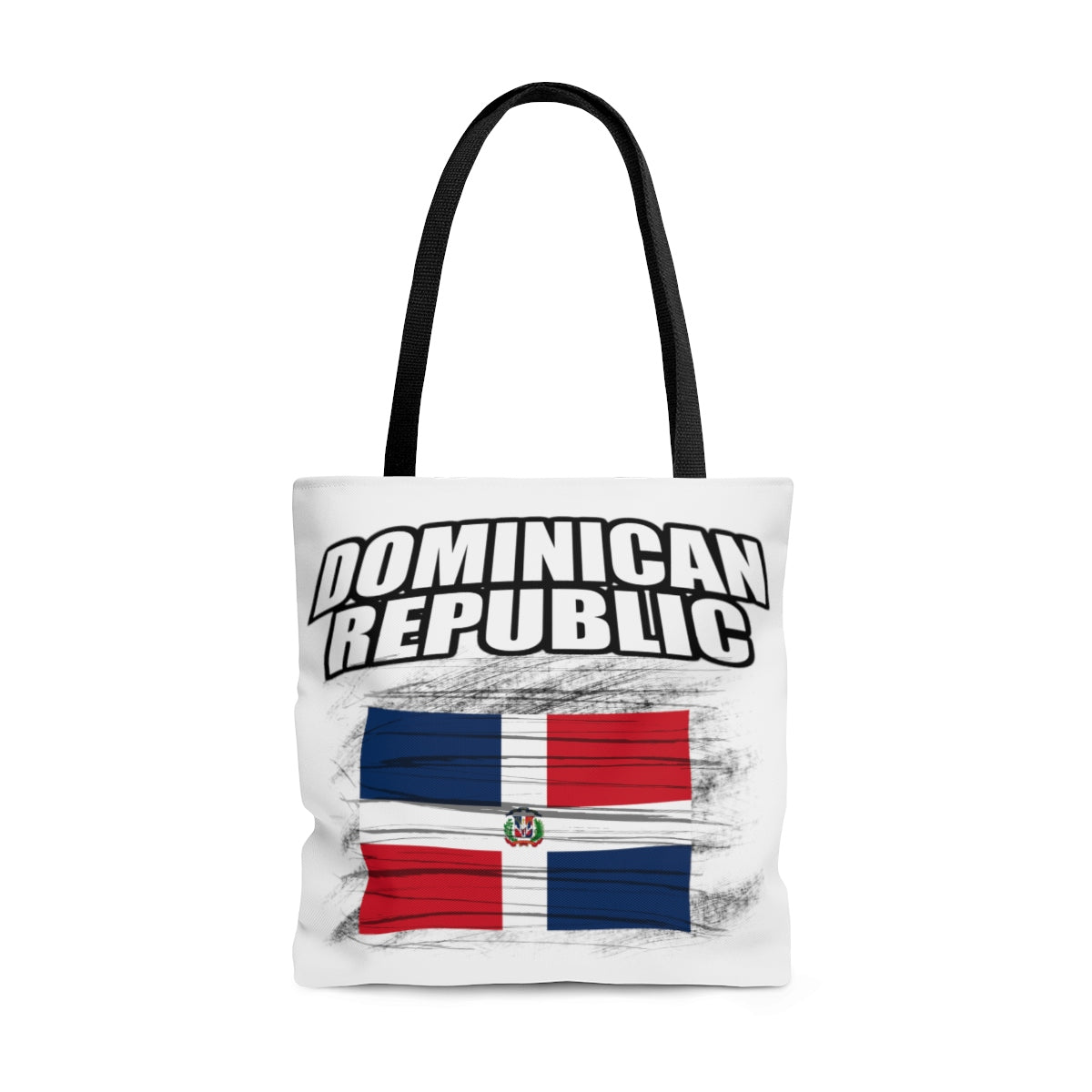 Dominican Republic AOP Tote Bag