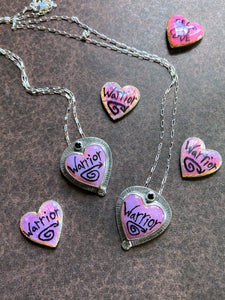 Warrior Heart Necklace