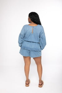 Demi denim jumper