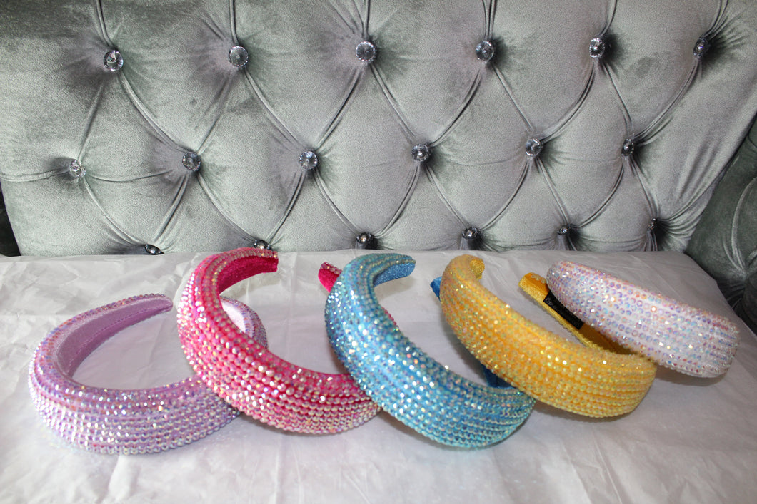 Barbie rhinestone headbands