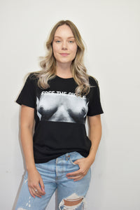 Free The Nipple Tee (Black)