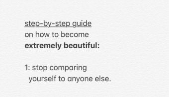 Step By Step Guide to Being Beautiful