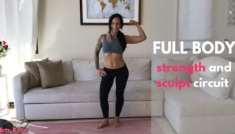 Full Body Strength and Sculpt Circuit