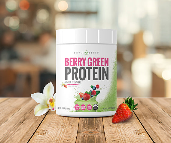 Berry Green Protein