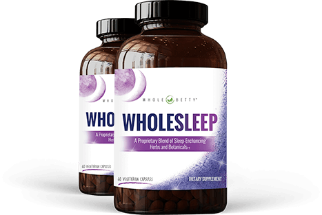 Two bottles of whole sleep.