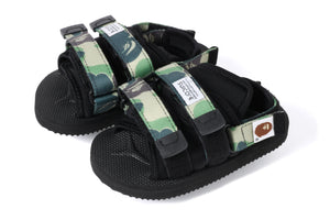 Suicoke BAPE Edition Kids APE MOTO Black
