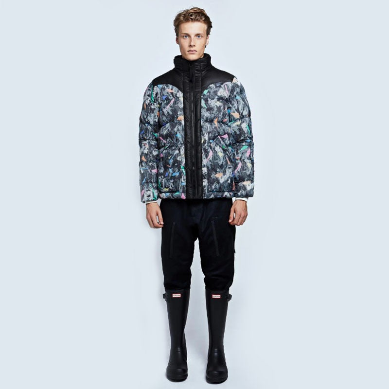 Original Printed Puffer Bomber (Men's Sample)