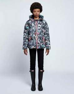 Original Printed A-Line Puffer Jacket (Women's Sample)