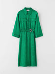 venedig dress marine green s67077001 Tiger of Sweden