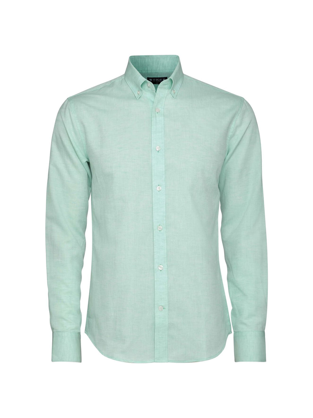 donald shirt green turquoise t60791010 Tiger of Sweden