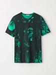 darian aop t shirt green t68577001 Tiger of Sweden