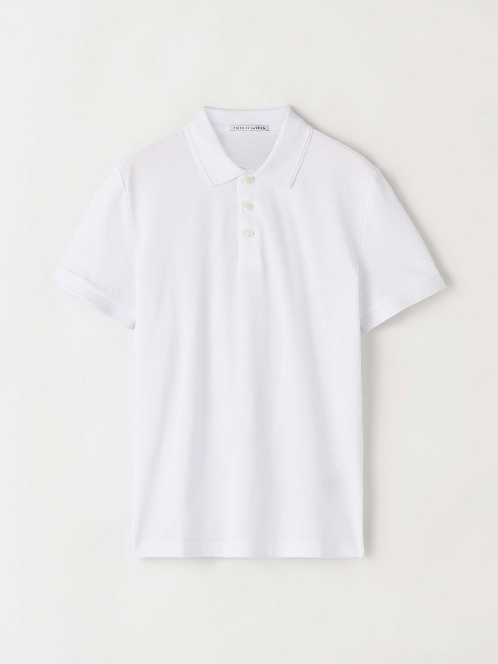 darios polo pure white t68618002 Tiger of Sweden