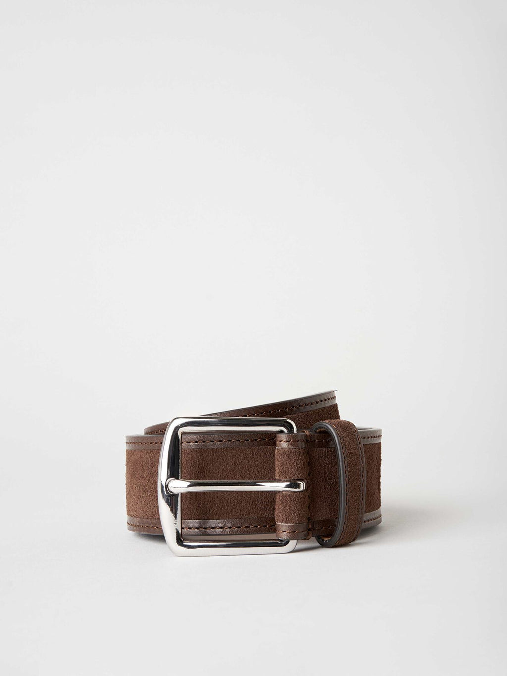 breton belt dark brown u62465007 Tiger of Sweden