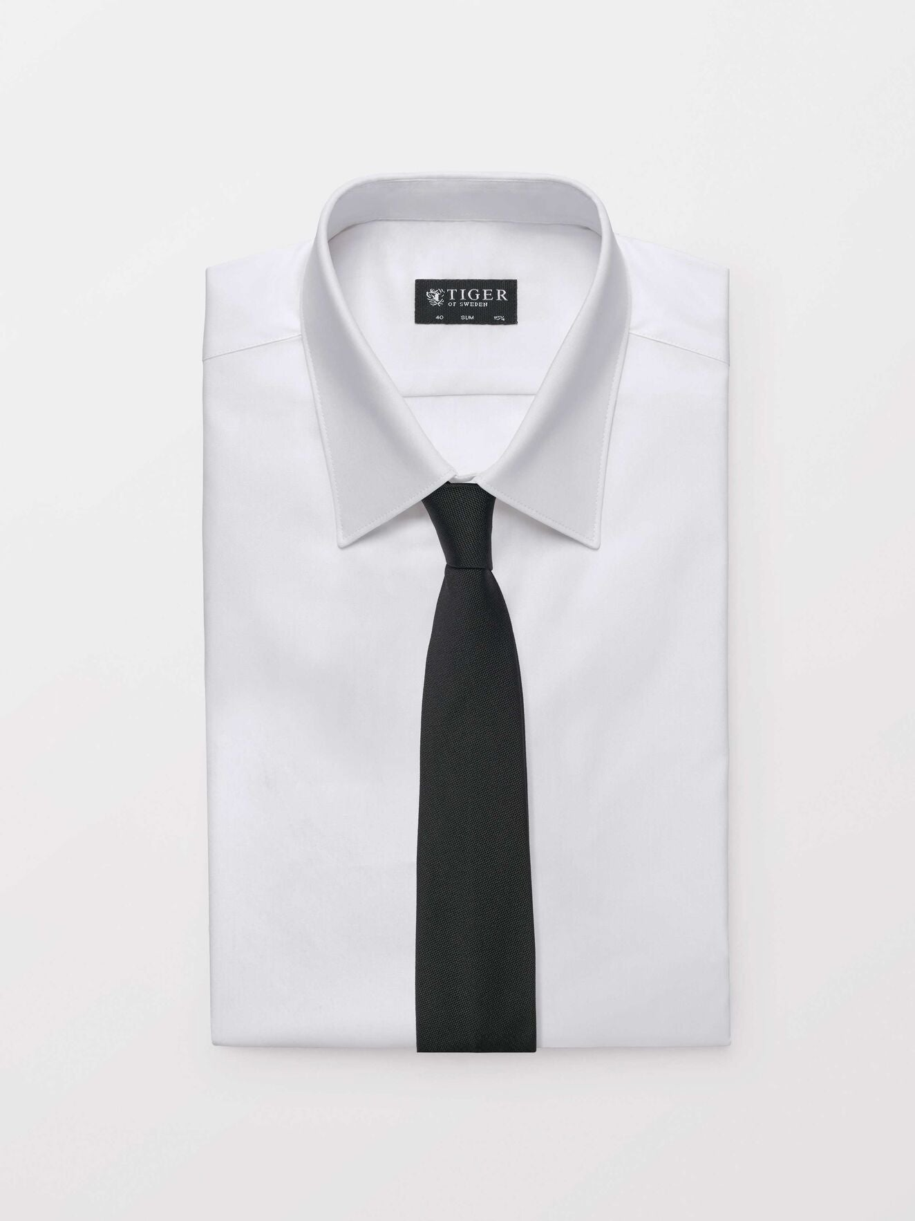tido tie black u67800004z Tiger of Sweden