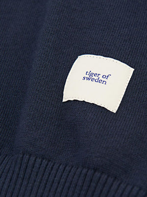 lang pullover deep purple w64452007 Tiger of Sweden