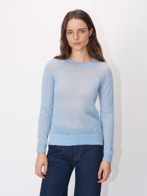 yeraz pullover chambray blue w66991002 Tiger of Sweden