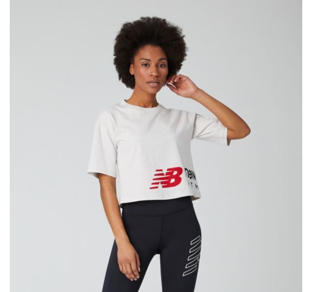 Essentials Icon Graphic Boxy Tee  (Women's Sample)