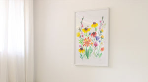 Off-the-shelf frames perfect for your new print