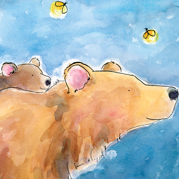 Alfred & Barry the bears - Raewyn Pope Illustration