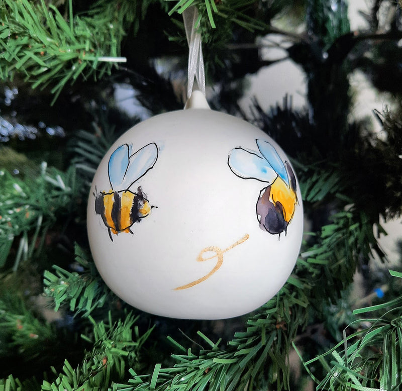 Bumblebees Bauble