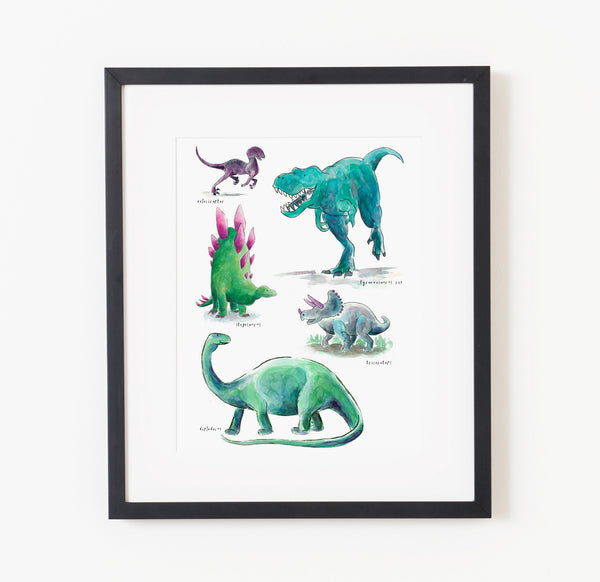 Dino Days - Raewyn Pope Illustration