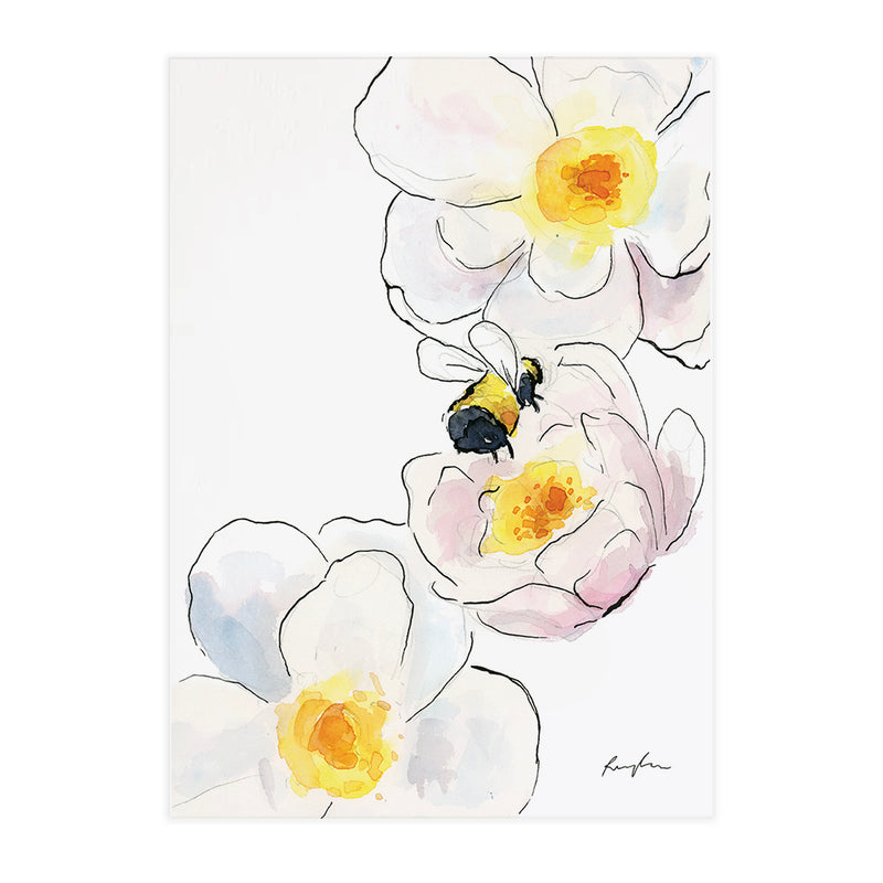 Bumble bee Bum - Raewyn Pope Illustration