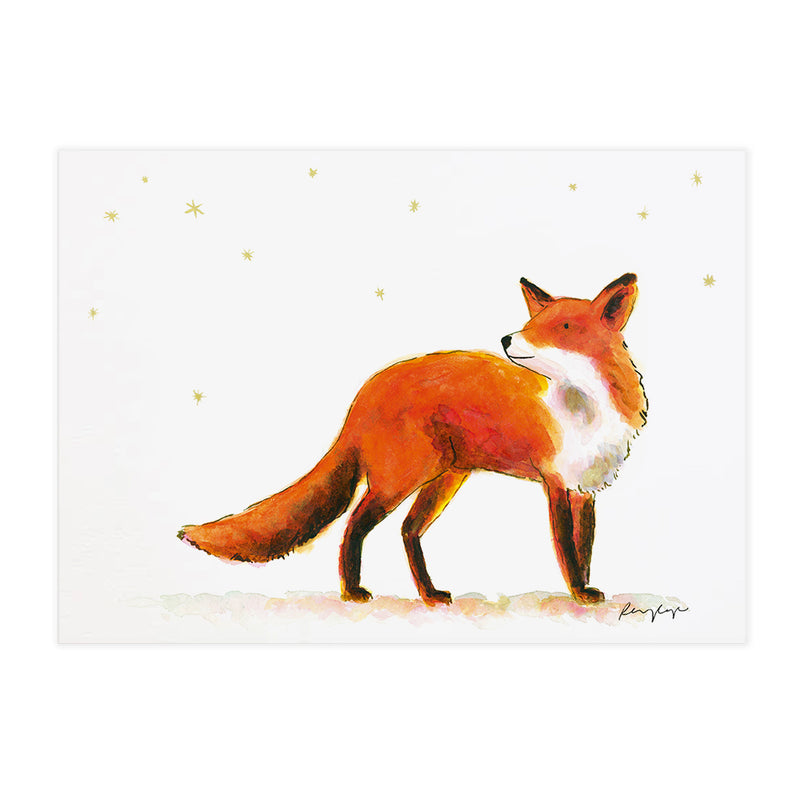 Frank the Fox - Raewyn Pope Illustration