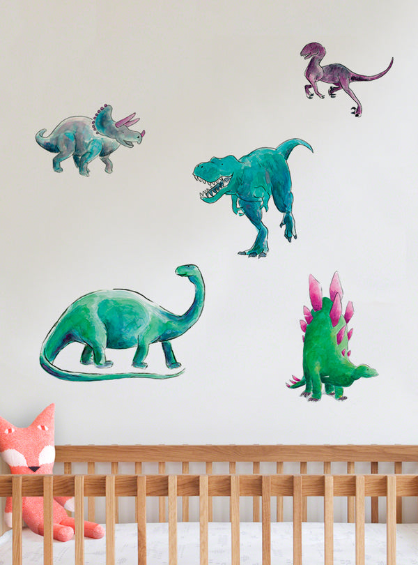 Dino Days Fabric Wall Decal