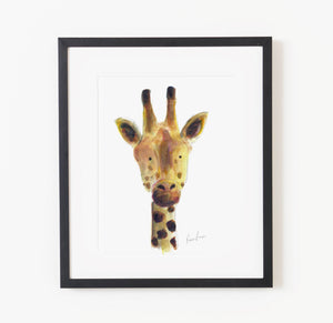 Marcus the Giraffe - Raewyn Pope Illustration