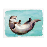 Osmond the Otter - Raewyn Pope Illustration