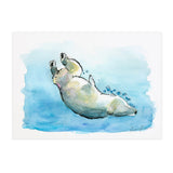 Greta the Polar Bear - Raewyn Pope Illustration
