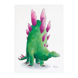 Jeff the Stegosaurus - Raewyn Pope Illustration