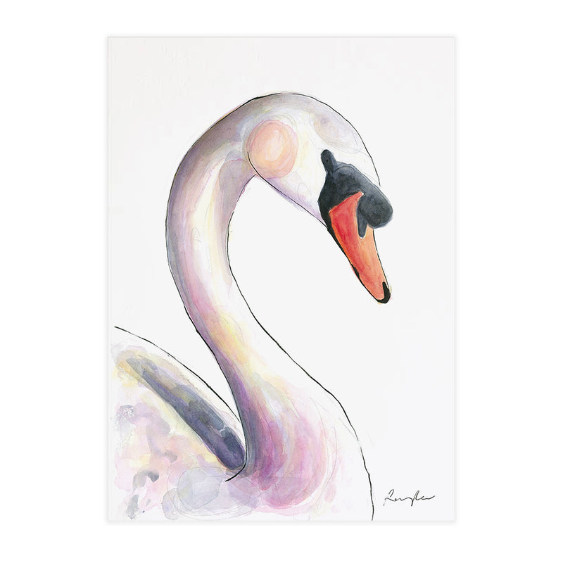 Sylvia the Swan - Raewyn Pope Illustration