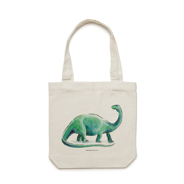 Dinosaur Tote Bag - Raewyn Pope Illustration