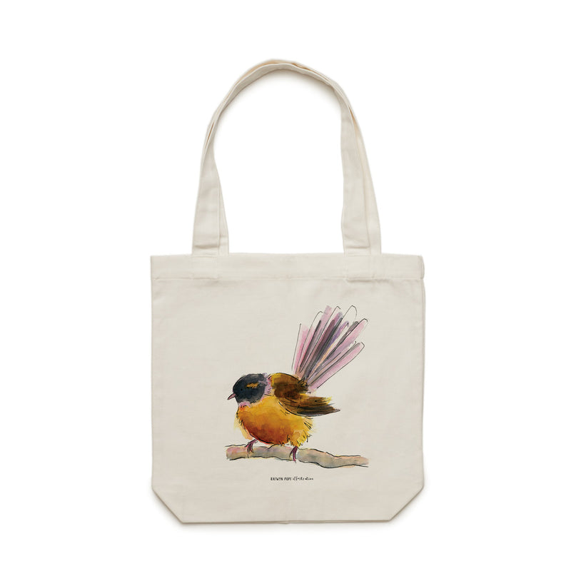 Fantail Tote Bag - Raewyn Pope Illustration