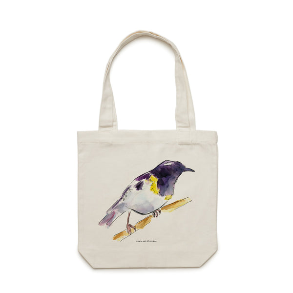 Hihi Tote Bag - Raewyn Pope Illustration
