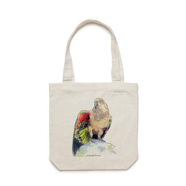 Kea Tote Bag - Raewyn Pope Illustration