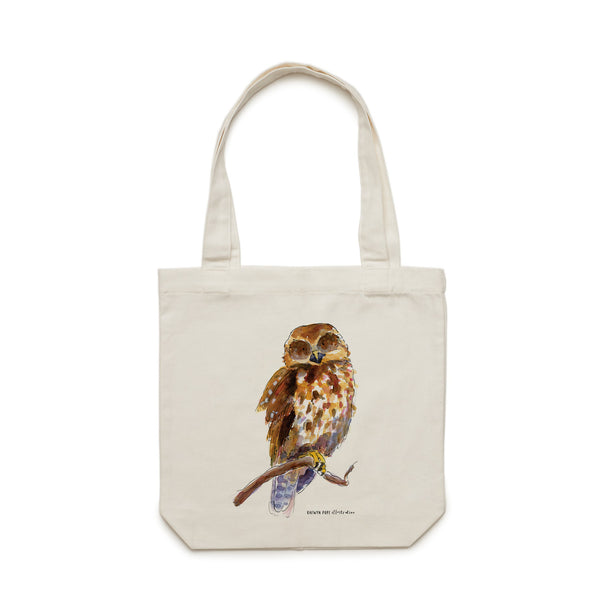 Ruru Tote Bag - Raewyn Pope Illustration