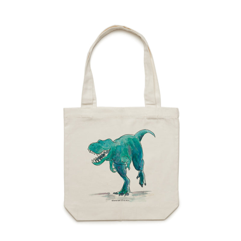 T-Rex Tote Bag - Raewyn Pope Illustration